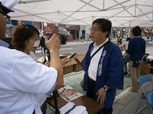 ZenyA 事務局です!-福島大会の日疋代表1
