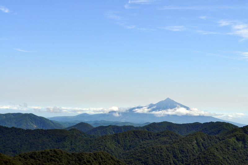 $白神山地ツアーの白神なびスタッフブログ-2013年7月中旬の白神山地「二ツ森」8