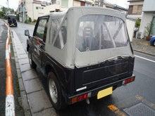 $物欲もりさんのブログ-JA71ジムニー幌車後ろから