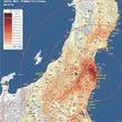東日本の汚染状況