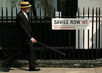 イギリスのサヴィル・ロウ、とい...