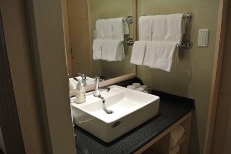 旅行の相談・案内役@遊寝食男のブログ-グランデ6洗面台