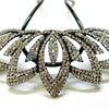 ■礼装用のコスチュームかんざし(プラスチック/真鍮製)。結婚式、訪問着、ドレスにもおすすめ。の画像