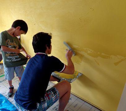 体に優しく 居心地の良いお部屋に。珪藻土・漆喰で塗り壁施工&塗り替え-マンション・珪藻土塗り