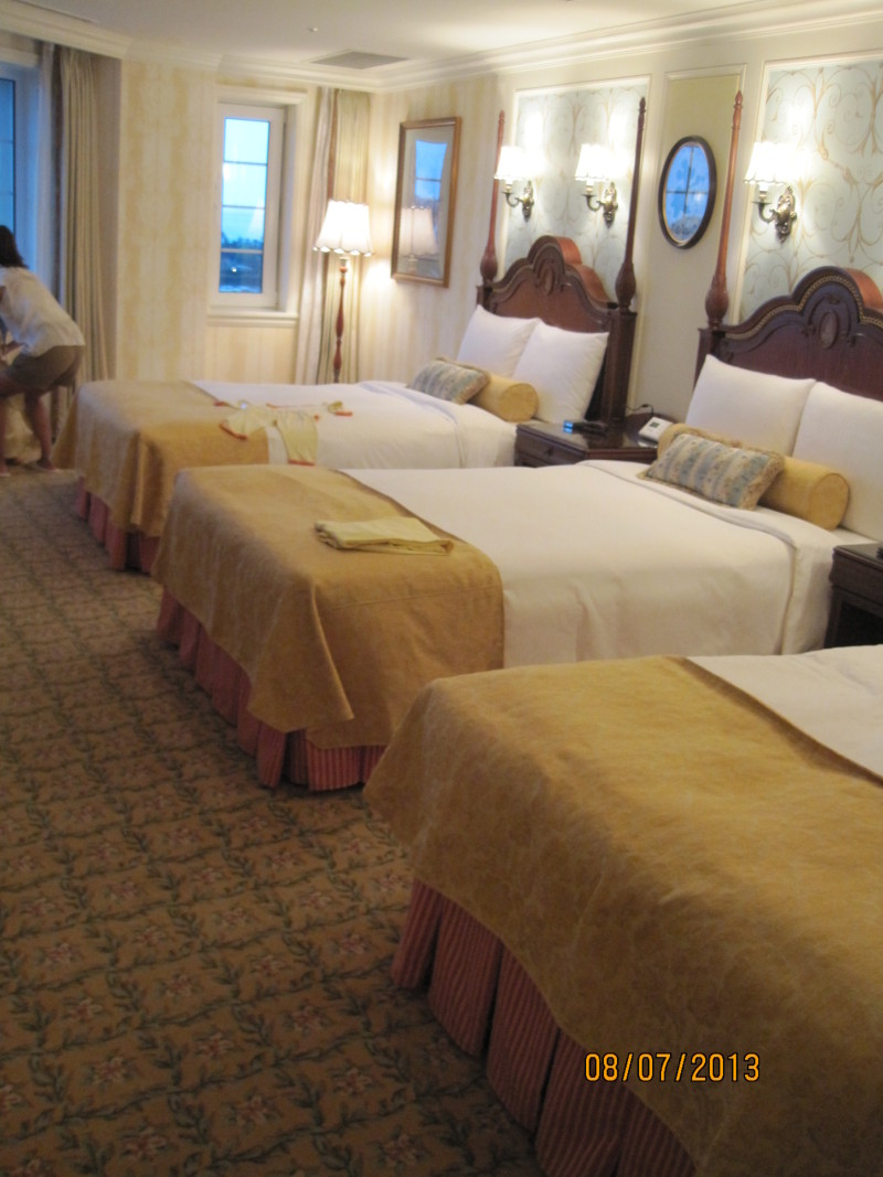 ディズニーランドホテル スタンダードジュニアファミリールーム | 香港