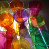 虹のコップの画像