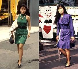 バブリー】80年代ファッションが若者の間で流行っているらしい