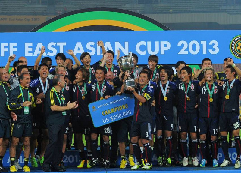 サッカー日本代表 2013年 東アジアカップ
