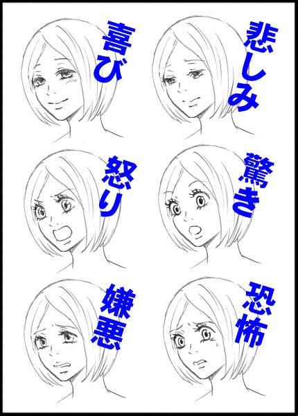 キャラがいつも同じ表情になってしまう① 漫画の描き方qa