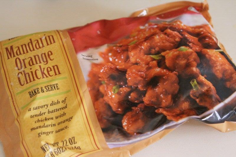 Trader Joe's mandalin orange chicken