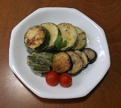 豆腐の Cooking Life-夏野菜のフリット