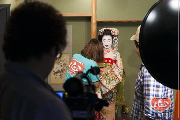 舞妓体験テレビ