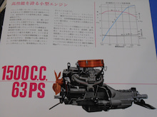 $1959PORSCHE356Aのブログ-簡易4中エンジン
