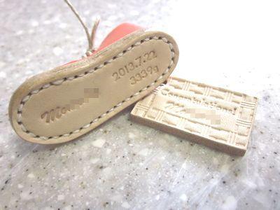 OXIO-CRAFT(オキクラ)の「革雑貨」制作日記-ミニ靴