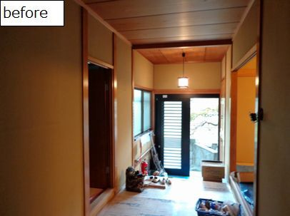 体に優しく 居心地の良いお部屋に。珪藻土・漆喰で塗り壁施工&塗り替え-箕面・珪藻土リフォーム