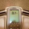 本日の体重 2013/08/09の画像