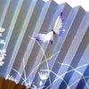 """■婦人用のお扇子。蝶、秋草。~今年も""""扇子""""で""""猛暑""""の夏を涼しく乗り切ろう!の画像"""