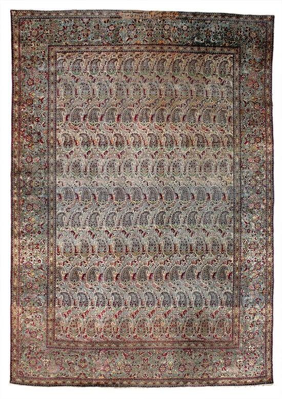 週刊イスファハンカーペット-約160年前のアンティークペルシャ絨毯