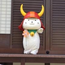彦根城にて