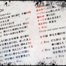 J.BOY(浜田省吾…