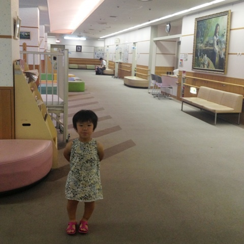 滋賀県小児保健医療センターへ。...