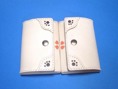OXIO-CRAFT(オキクラ)の「革雑貨」制作日記-コインケース
