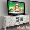 猫脚TVボード設置♡の画像