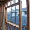 着工34日目 造り付け出窓の画像
