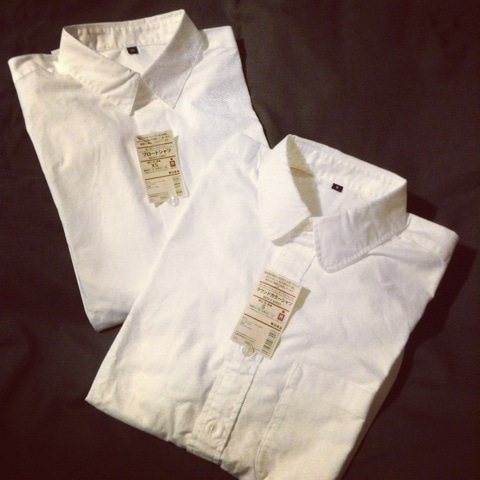 無印良品の白シャツが良いらしい!