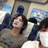 新幹線の中で、の画像