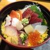 お魚天国の海鮮丼♪の画像