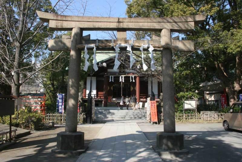 河崎氏館/稲毛神社