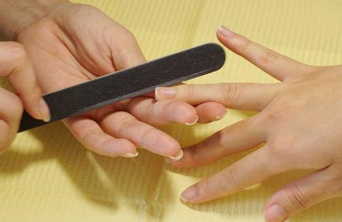 爪の角質除去