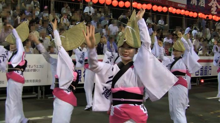 ののちゃんブログ-阿波踊り 悠久連