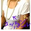 コットンパールネックレス のお届け♡♡の画像
