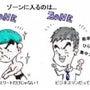 """""""ゆるゾーン"""" に入…"""