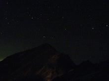 唐松岳と星空