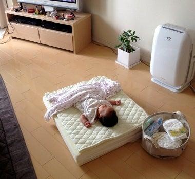 赤ちゃん部屋作ったけど結局リビングに・・・ | HAPPY ...