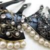 ■結婚式、パーティー等におすすめなかんざし。礼装用コスチュームかんざし(プラスチック/真鍮製)。の画像