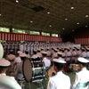『海上自衛隊練習員課程の終業式』の画像