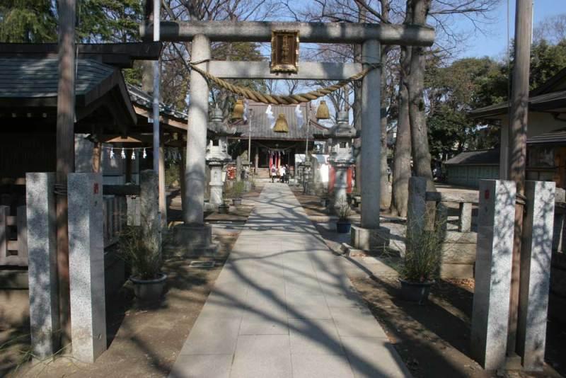 丸子城/日枝神社