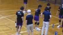 市川忠義コーチ 77歳!(明治大学バレーボール部)   でりしゃす☆かにっき