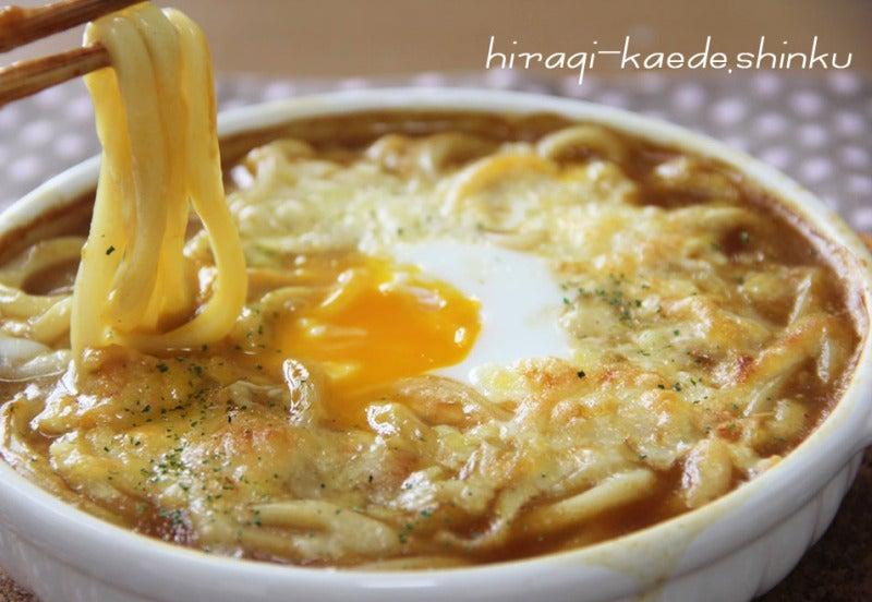 焼きカレーうどん【冷凍カレーうどんで手軽に♪】|冬のひいらぎ 秋のかえで*shinkuのレシピ&ライフ
