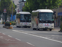サルビアの気まぐれで愉快なバスブログ-東野の2台