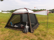 ローフード用テント