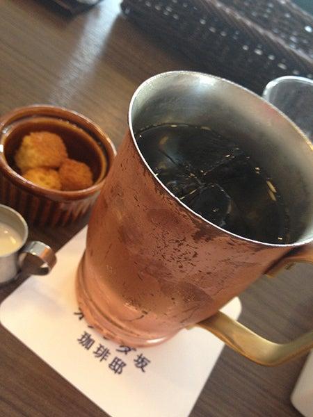 Pancakeholicのブログ-アイスコーヒー