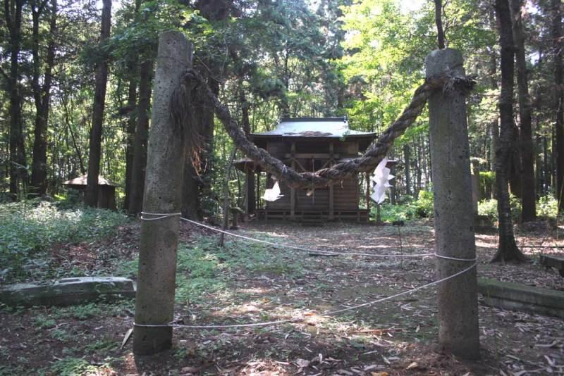 箕輪城/虚空蔵神社