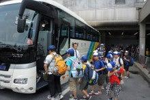 浄土宗災害復興福島事務所のブログ-20130726ふくスマ京都駅からの佛大バス