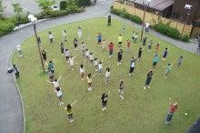 浄土宗災害復興福島事務所のブログ-20130731ふくスマラジオ体操