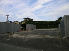 テント倉庫 基礎工事